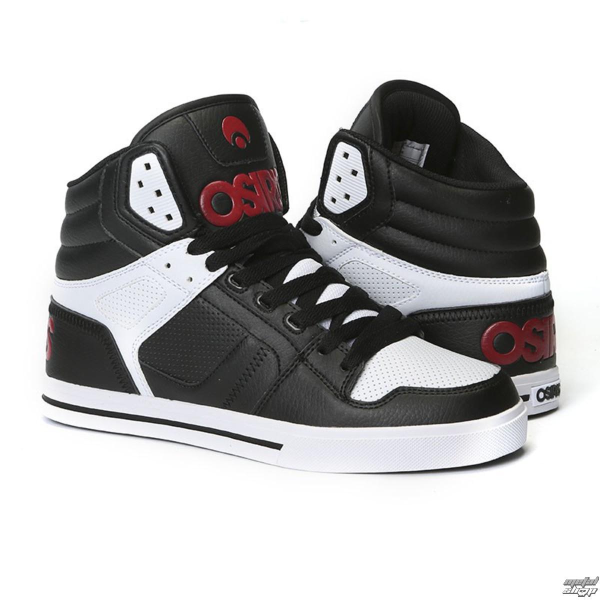 boty OSIRIS - Clone Black/Red/White - 1322-130