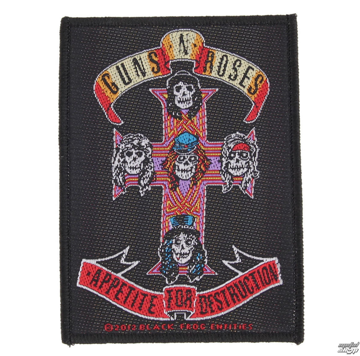 nášivka Guns N' Roses - APPETITE - RAZAMATAZ - SP2622