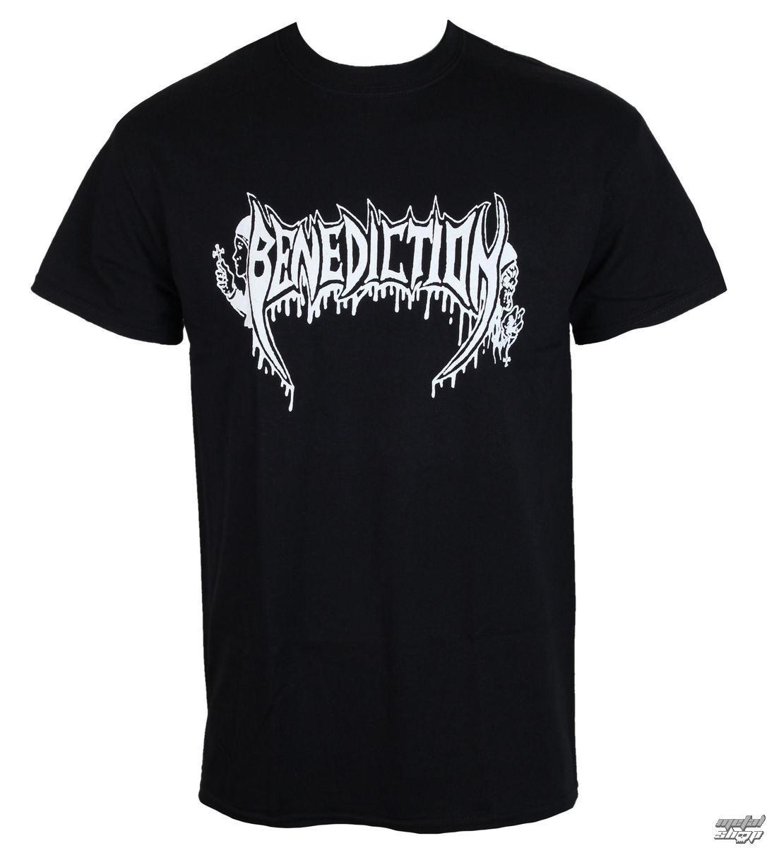 tričko pánské BENEDICTION - Old School - Logo - o217_TS