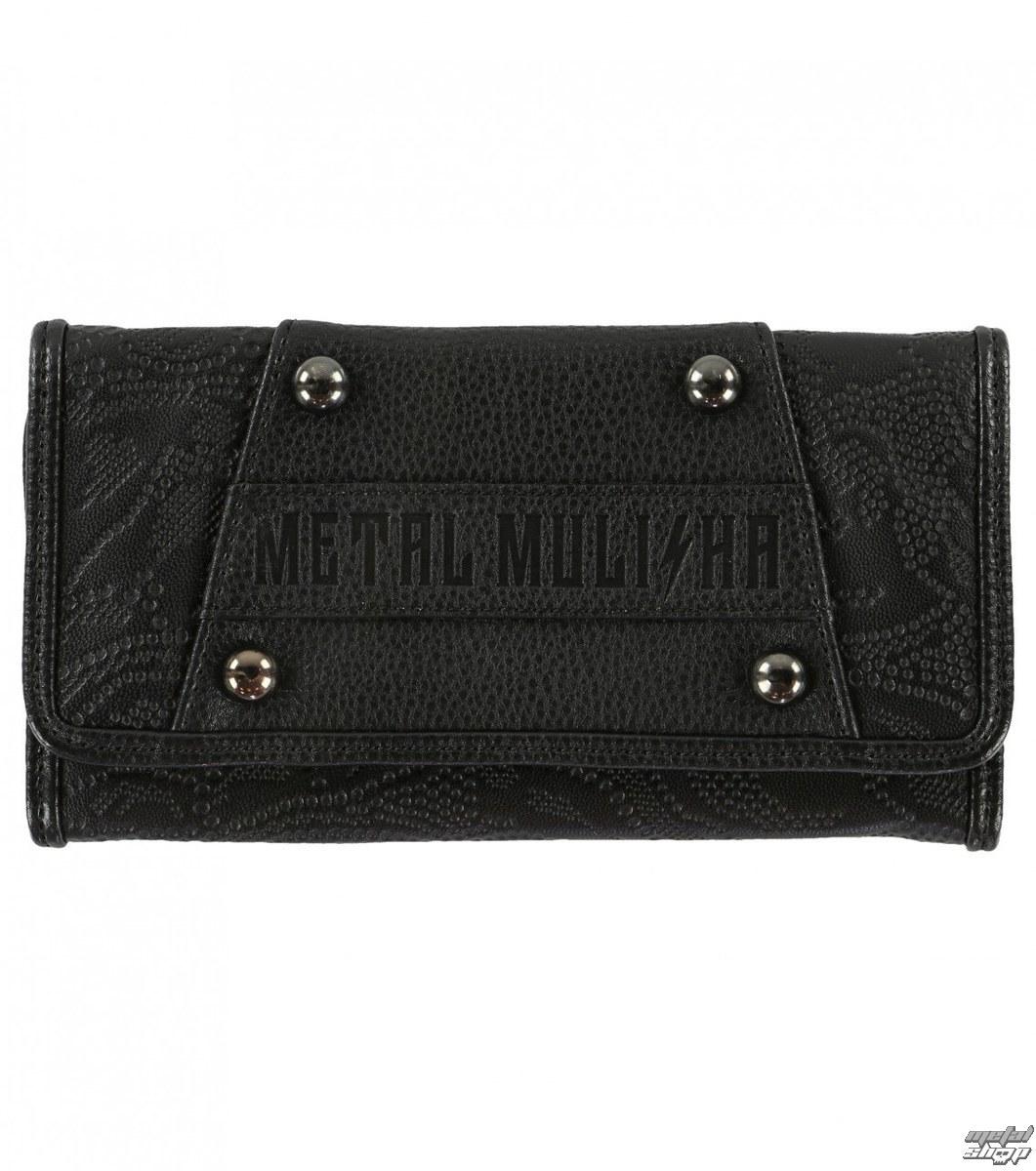 peněženka METAL MULISHA - ROUND UP - BLK - BLK_SP7797001.01