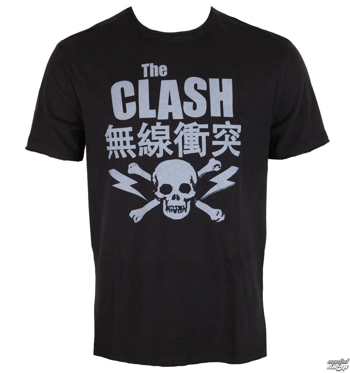 tričko pánské AMPLIFIED - THE CLASH BOLT - ZAV210CBT
