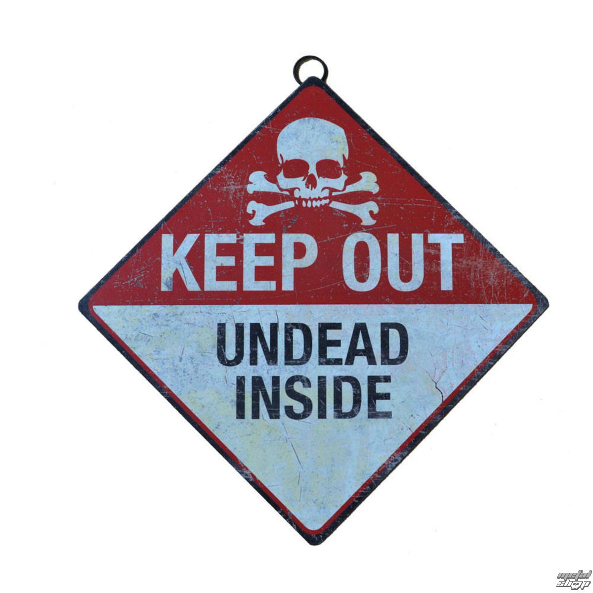 cedule Keep Out- Undead Inside