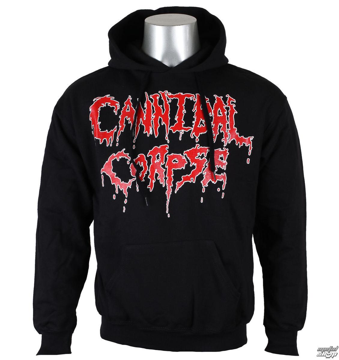 mikina pďż˝nskďż˝ CANNIBAL CORPSE - Logo - NUCLEAR BLAST - 2543_HS
