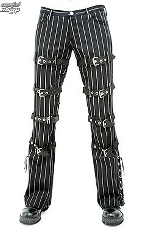 kalhoty dámské Aderlass - manacle Hipster denim Pin Stripe - A-1-23-050-01