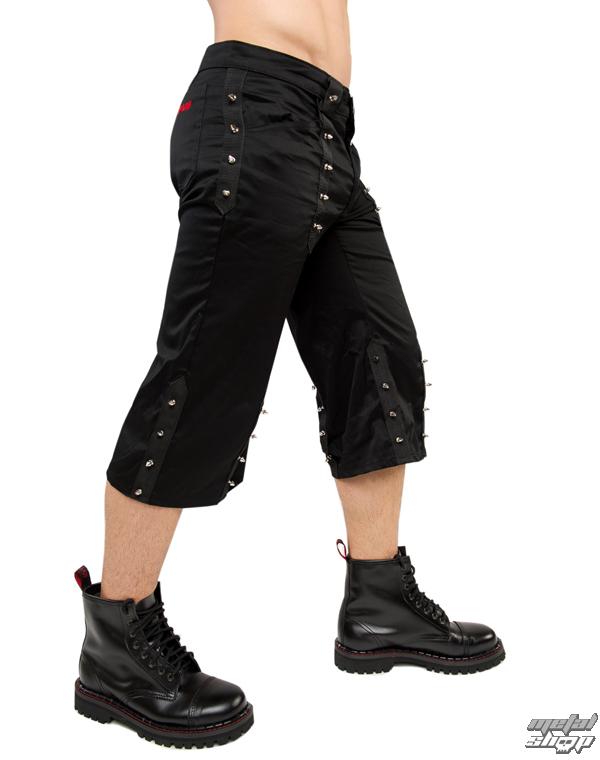 kraťasy 3/4 Aderlass - Curtly Prick Pants Denim Black - A-1-94-900-00