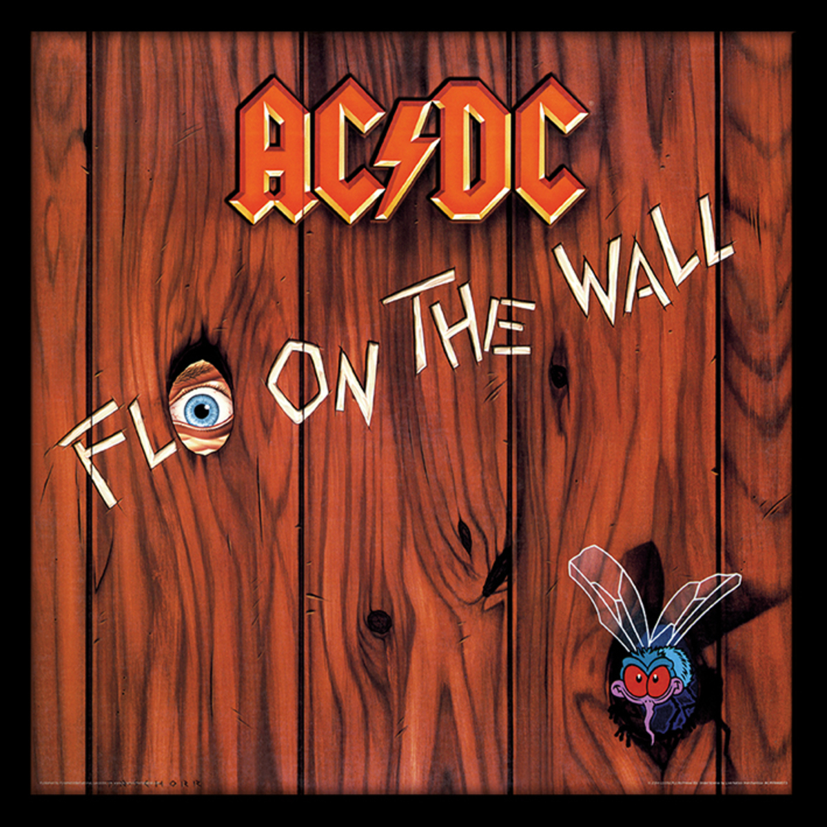 obraz ACDC - (Fly On the Wall) - PYRAMID POSTERS - ACPPR48073