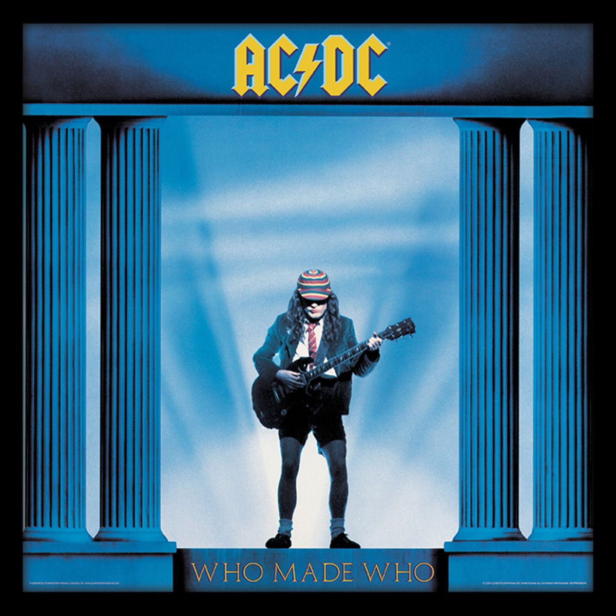 obraz PYRAMID POSTERS AC-DC (Who Made Who)