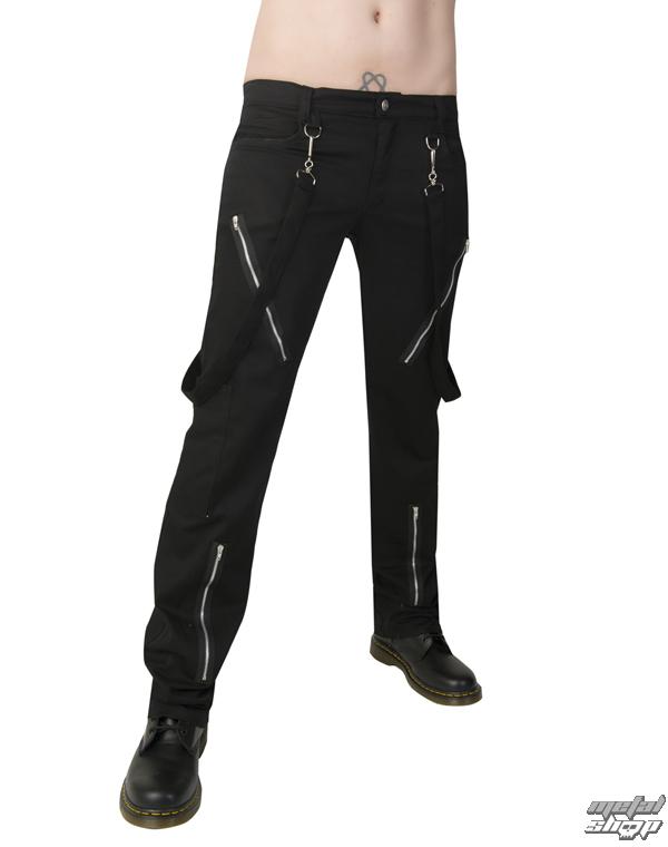 kalhoty Black Pistol - Punk Pants Denim Black - B-1-01-001-00