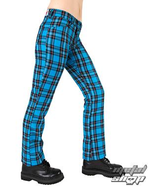 kalhoty Black Pistol - Hipster Tartan Light Blue - B-1-04-060-02