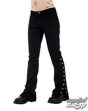 kalhoty dámské Black Pistol - Button Hipster Denim (Black) - B-1-59-001-00