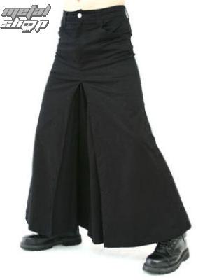 kilt Black Pistol - Men Skirt Denim Black - B-2-13-001-00