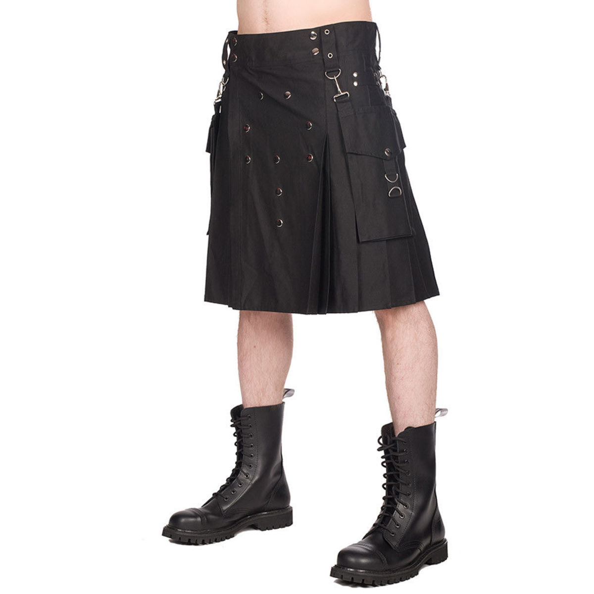 kilt BLACK PISTOL Denim S