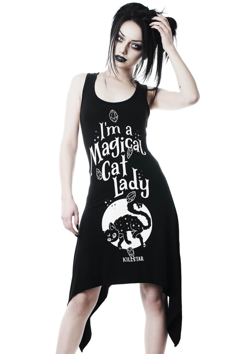 šaty KILLSTAR Cat Lady XS