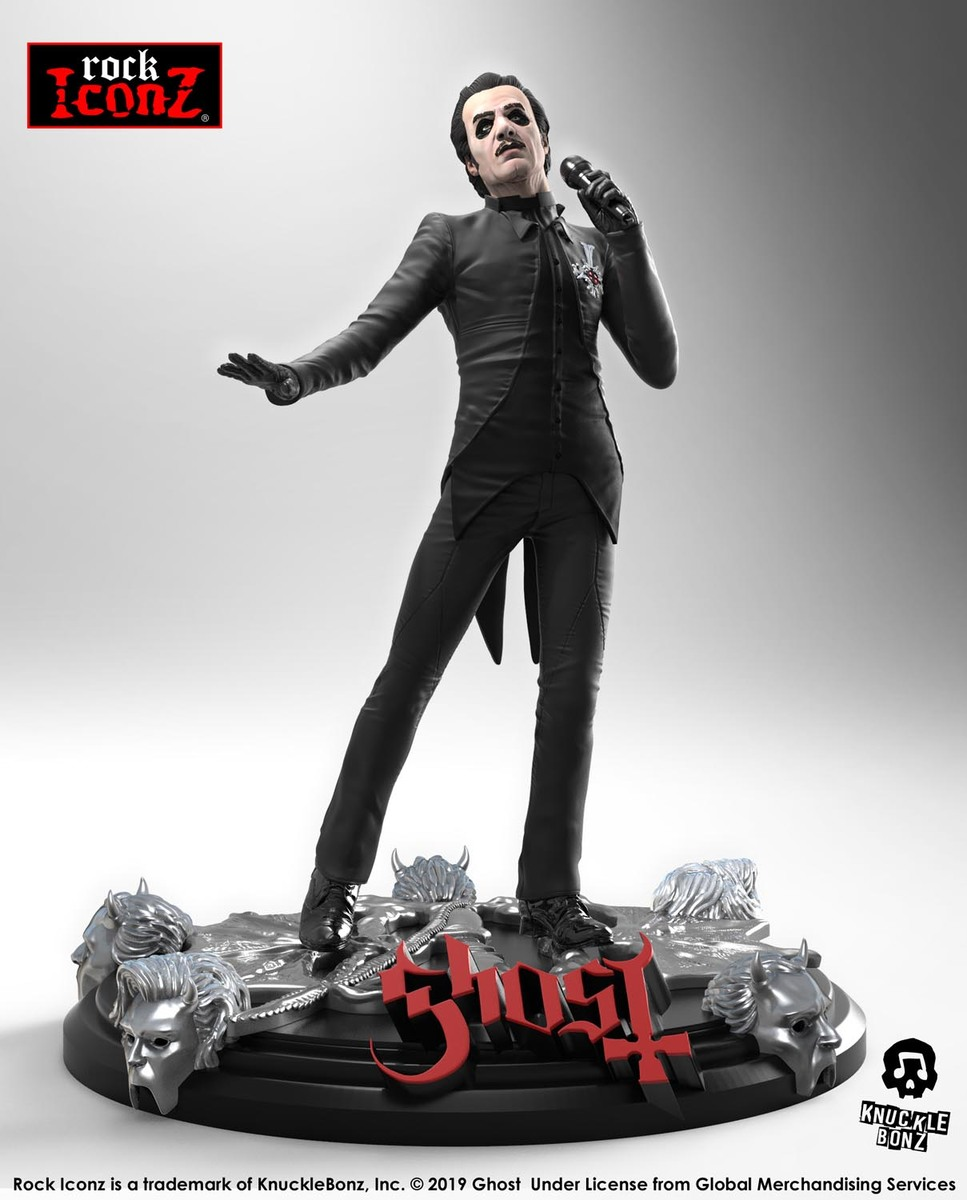 figurka skupiny KNUCKLEBONZ Ghost Cardinal Copia (Black Tuxedo)