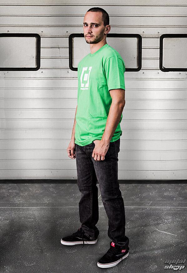 tričko pánské HORSEFEATHERS - Base - GREEN