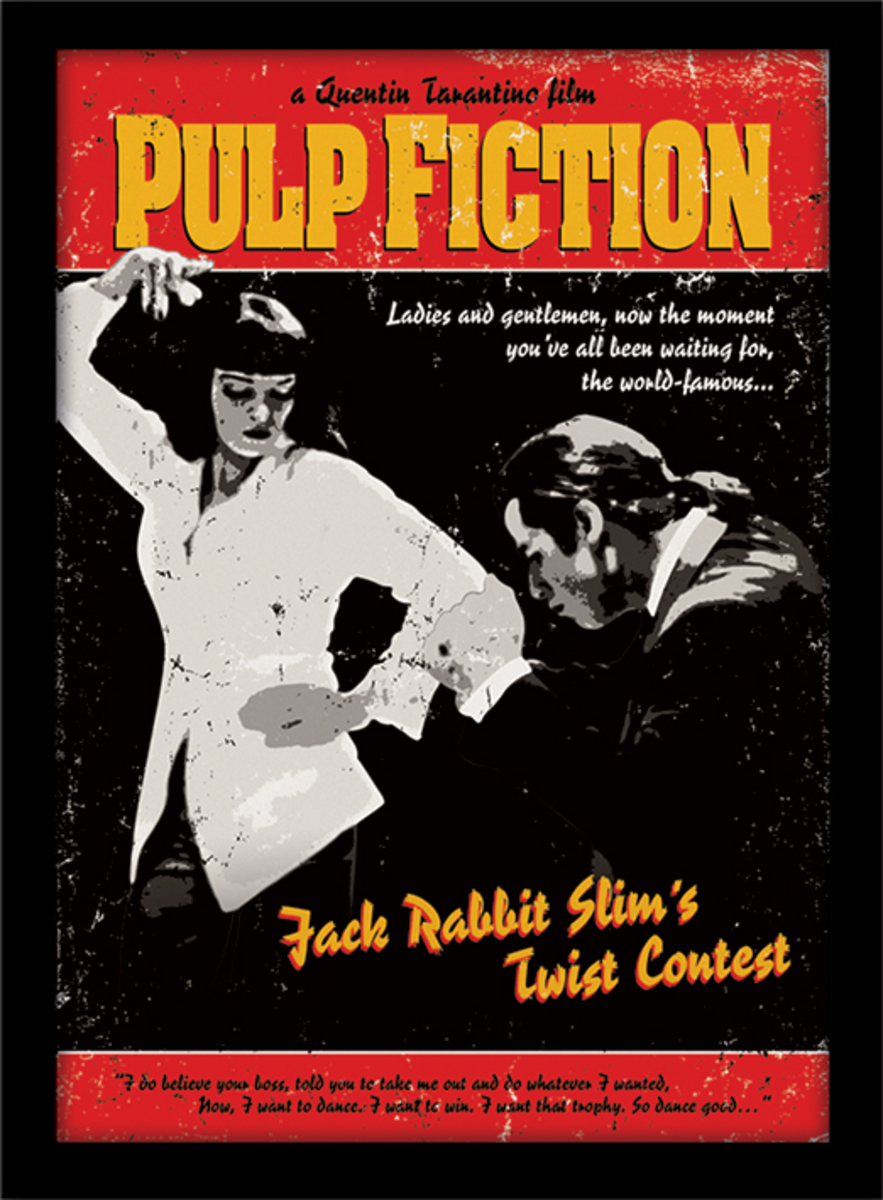 obraz PYRAMID POSTERS Pulp Fiction (Twist Contest)