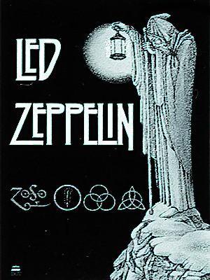 vlajka Led Zeppelin - Stairway - HFL0028