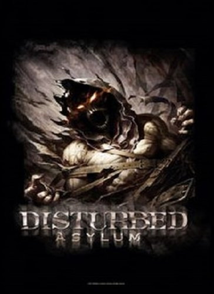 HEART ROCK Disturbed Big Fade Asylum