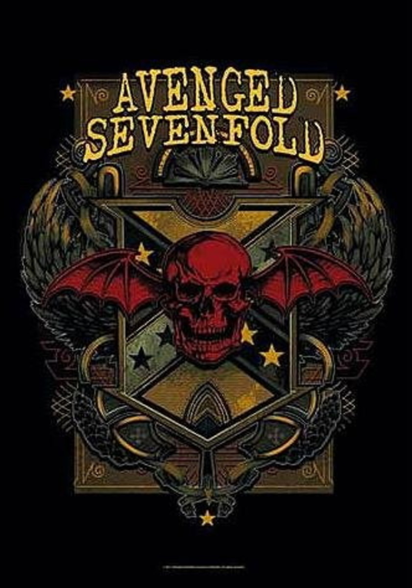 HEART ROCK Avenged Sevenfold Death Crest