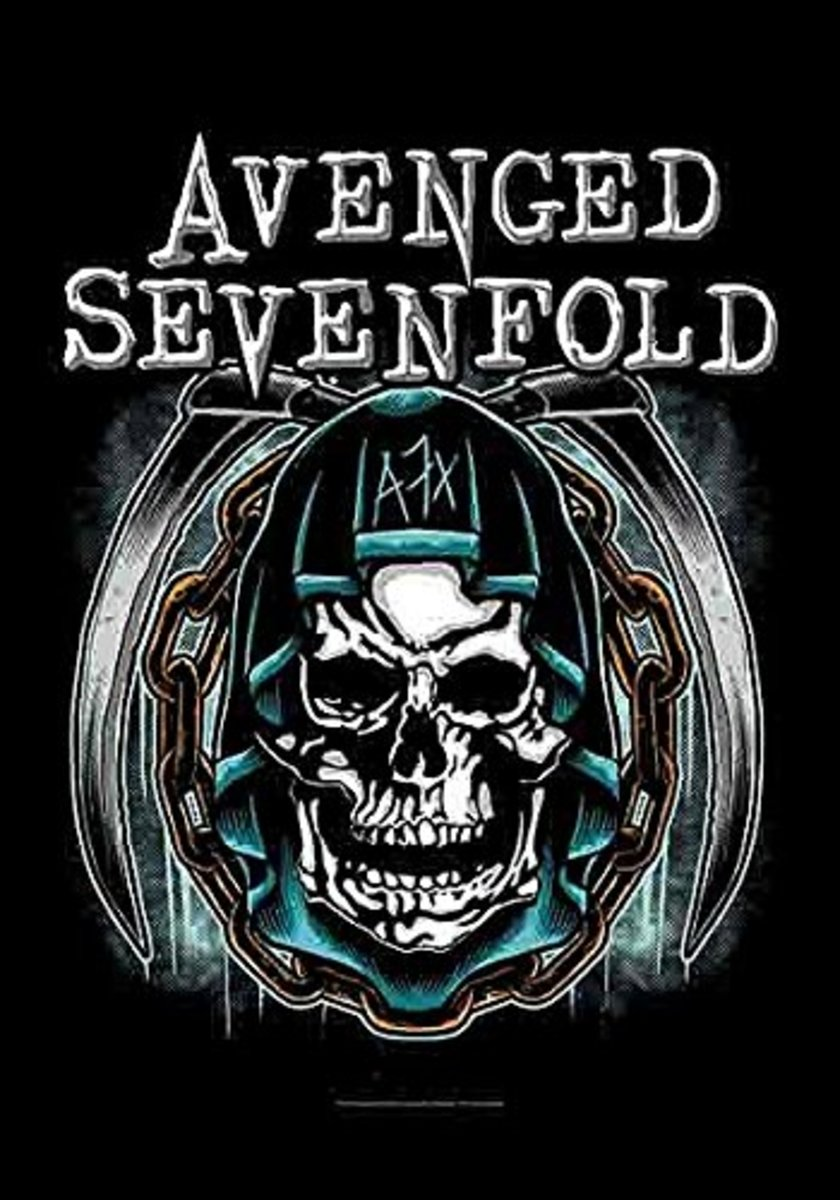 HEART ROCK Avenged Sevenfold Holy Reaper
