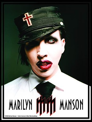 vlajka Marilyn Manson - Uniform