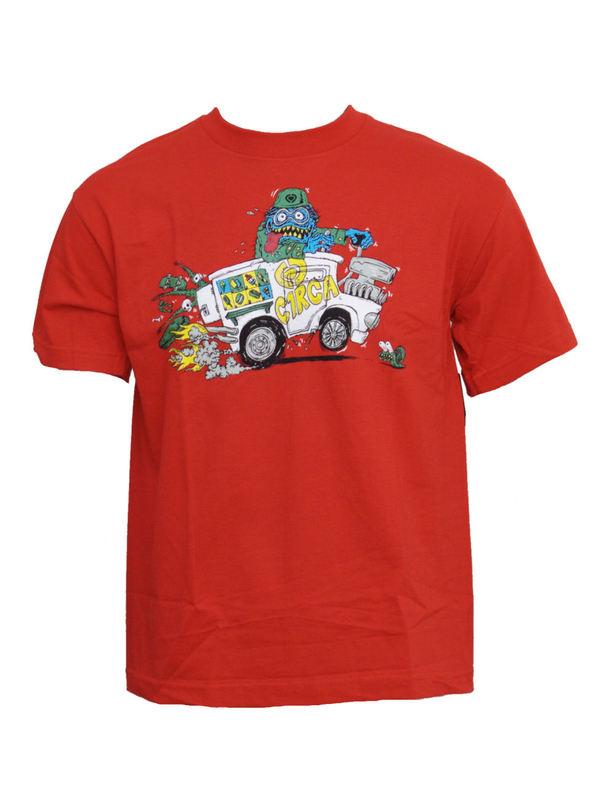 tričko dětské CIRCA - Treats - RED
