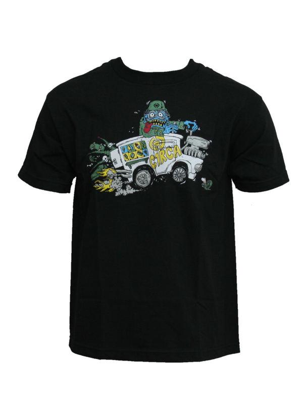 tričko dětské CIRCA - Treats - BLK