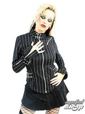 kabátek dámský Mode Wichtig - Buckle Blouse Pin Stripe -M-4-69-050-01