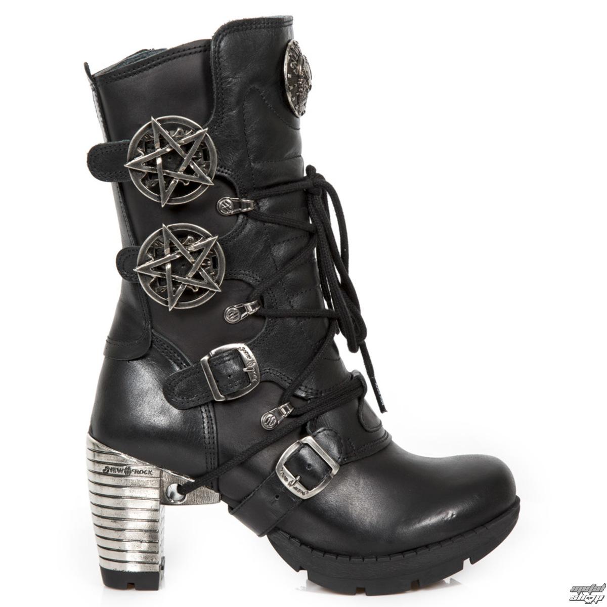 c0ec38bb323 boty dámské NEW ROCK - ITALI NEGRO