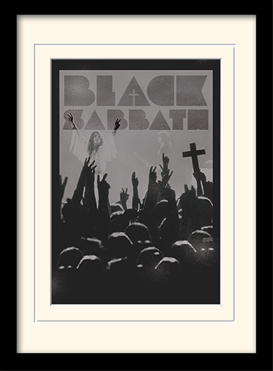 obraz PYRAMID POSTERS Black Sabbath (Cross)