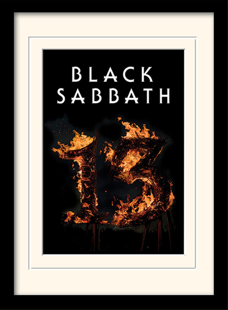 obraz PYRAMID POSTERS Black Sabbath (13)