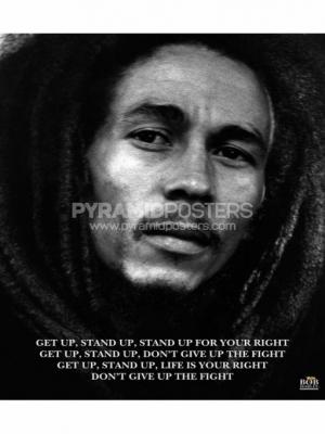 Plakát - Bob Marley (Get Up, Stand Up) - MPP50072 - Pyramid Posters