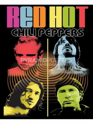 Plakát - Red Hot Chili Peppers - PP30090 - Pyramid Posters