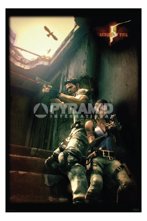 plakát Resident Evil 5 (Against A Wall) - PP31862 - PYRAMID POSTERS