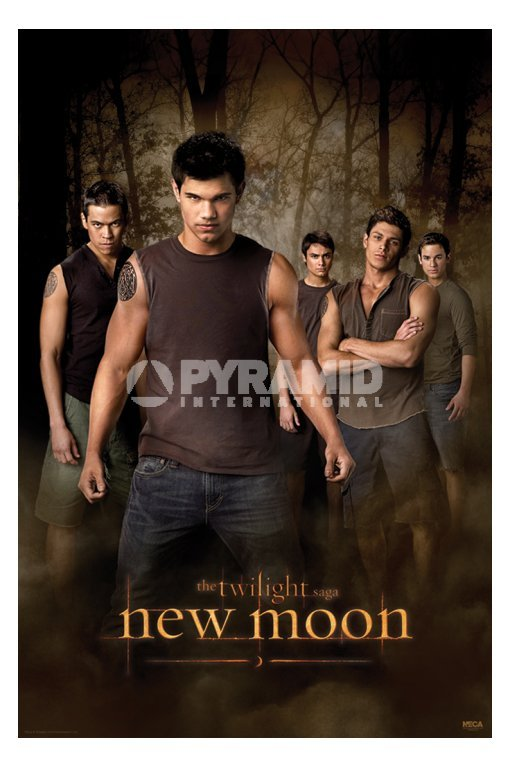 plakát Twilight - New Moon (Wolf Pack) (Stmívání) - PP32065