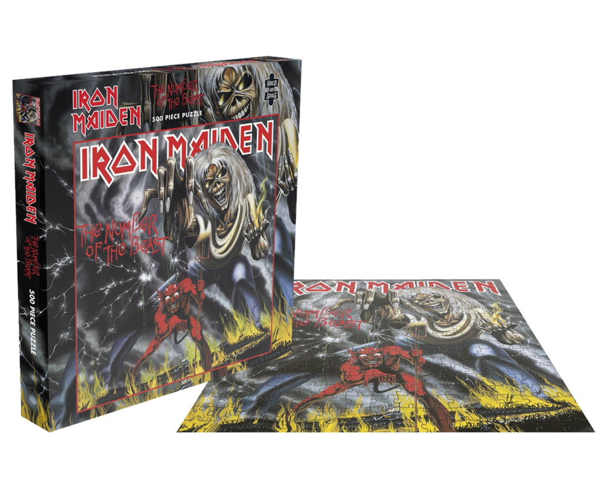 puzzle IRON MAIDEN - THE NUMBER OF THE BEAST - PLASTIC HEAD - RSAW001PZ