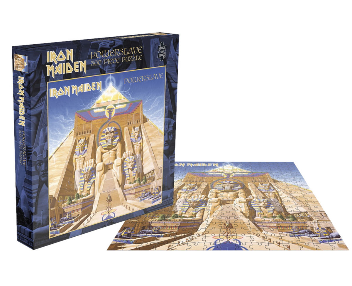 puzzle IRON MAIDEN - POWERSLAVE - PLASTIC HEAD - RSAW002PZ