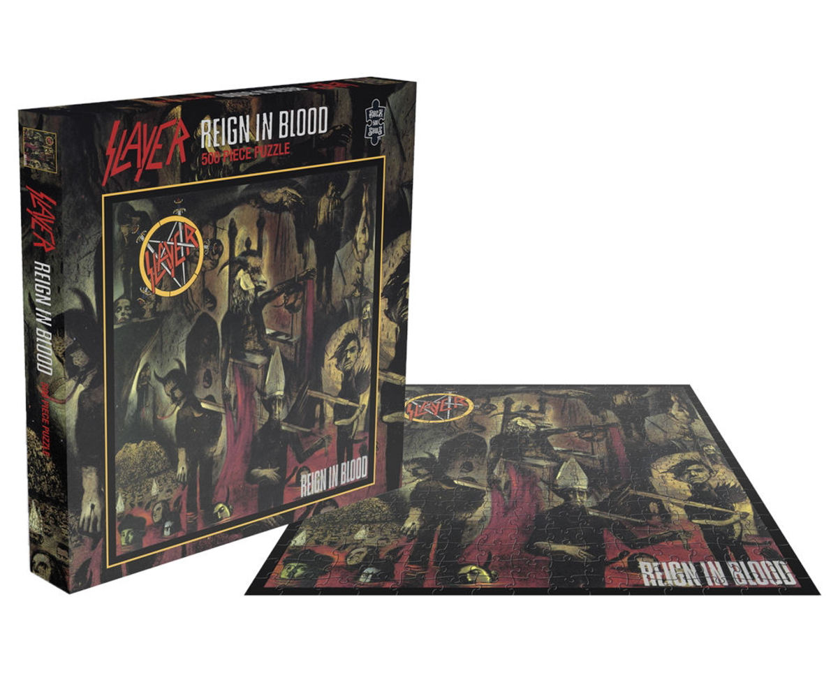 puzzle SLAYER - REIGN IN BLOOD - PLASTIC HEAD - RSAW004PZ