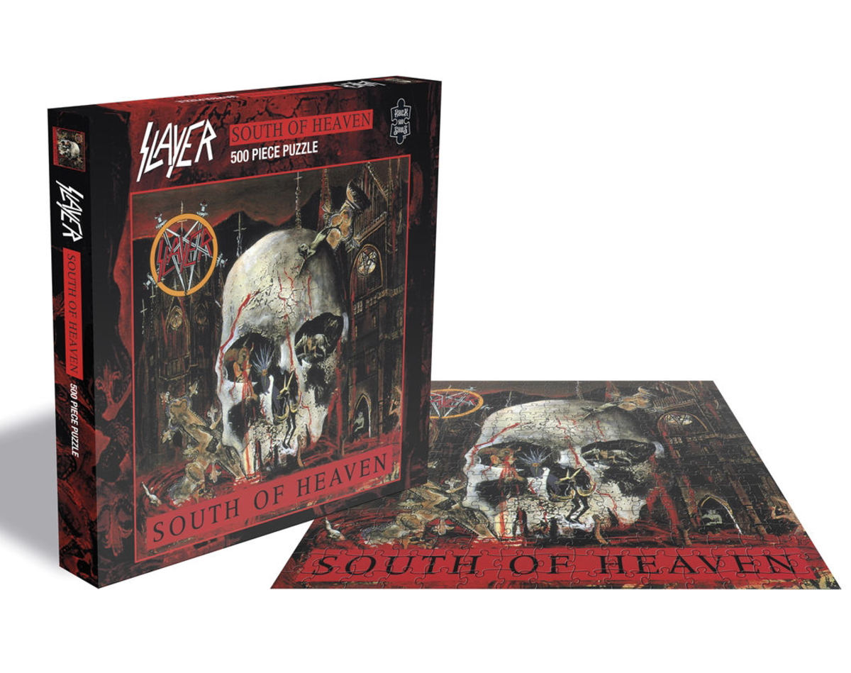 puzzle SLAYER - SOUTH OF HEAVEN - (500 dílků) - PLASTIC HEAD - RSAW005PZ