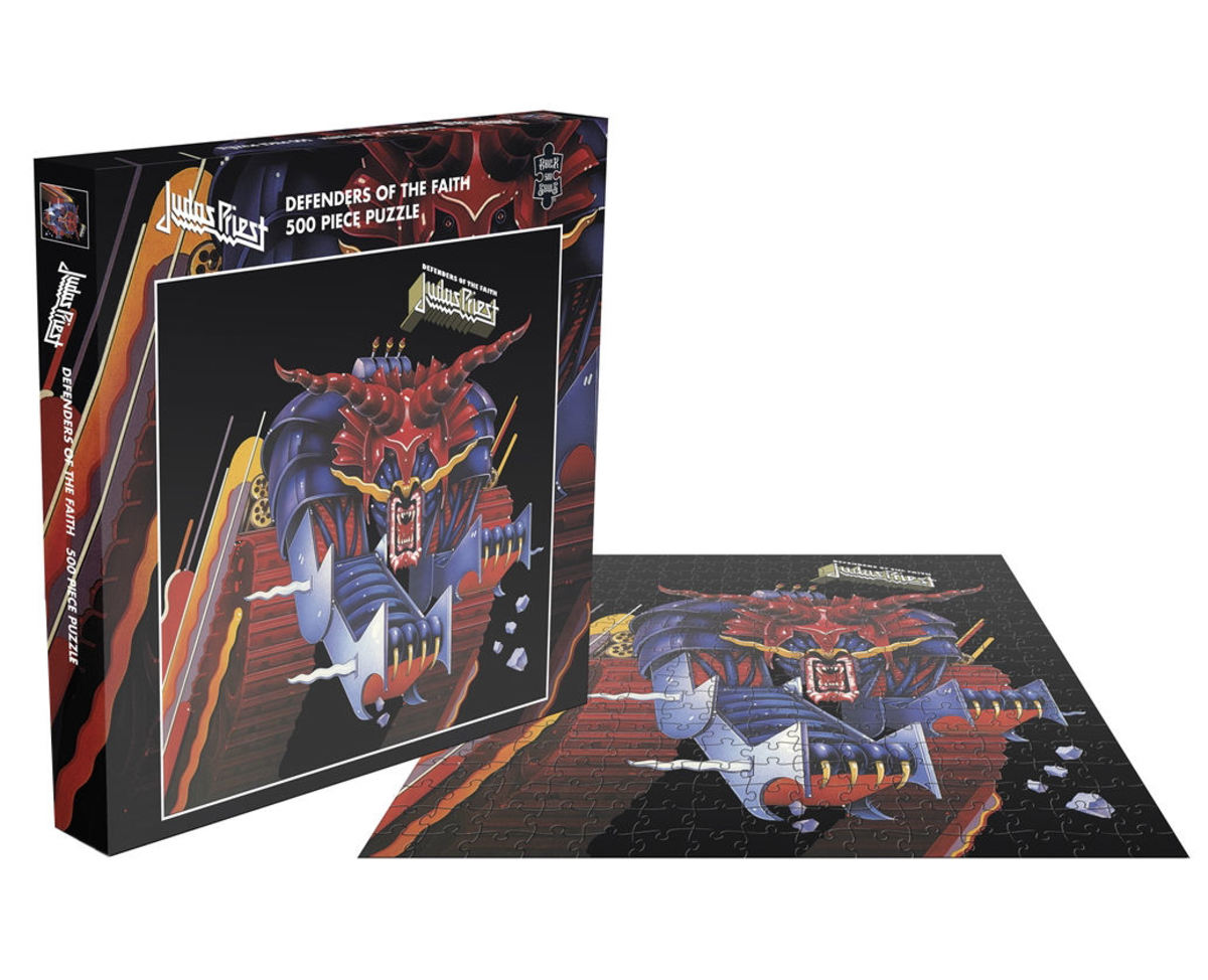puzzle JUDAS PRIEST - DEFENDERS OF THE FAITH - PLASTIC HEAD - RSAW010PZ
