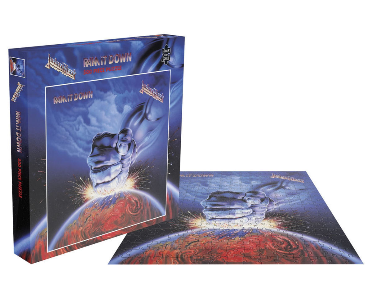 puzzle JUDAS PRIEST - RAM IT DOWN - PLASTIC HEAD - RSAW011PZ