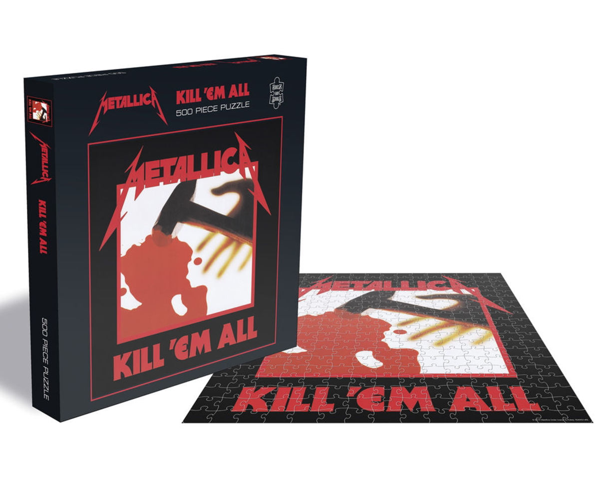 puzzle METALLICA - KILL EM ALL - PLASTIC HEAD - RSAW014PZ
