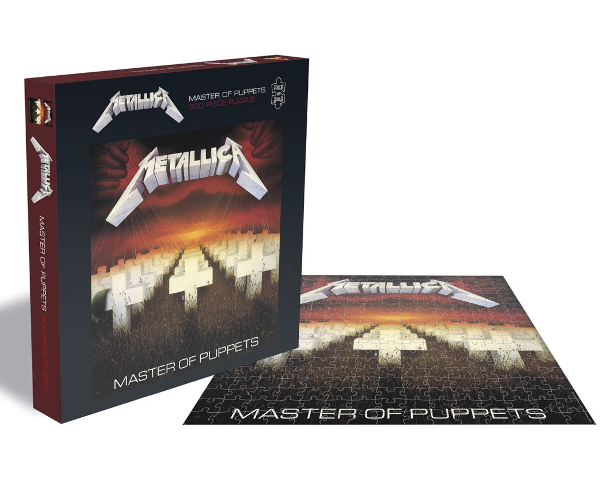 puzzle METALLICA - MASTER OF PUPPETS - PLASTIC HEAD - RSAW016PZ