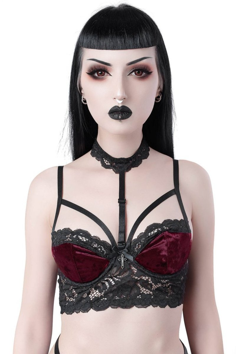 KILLSTAR Ruby Boudoir XS