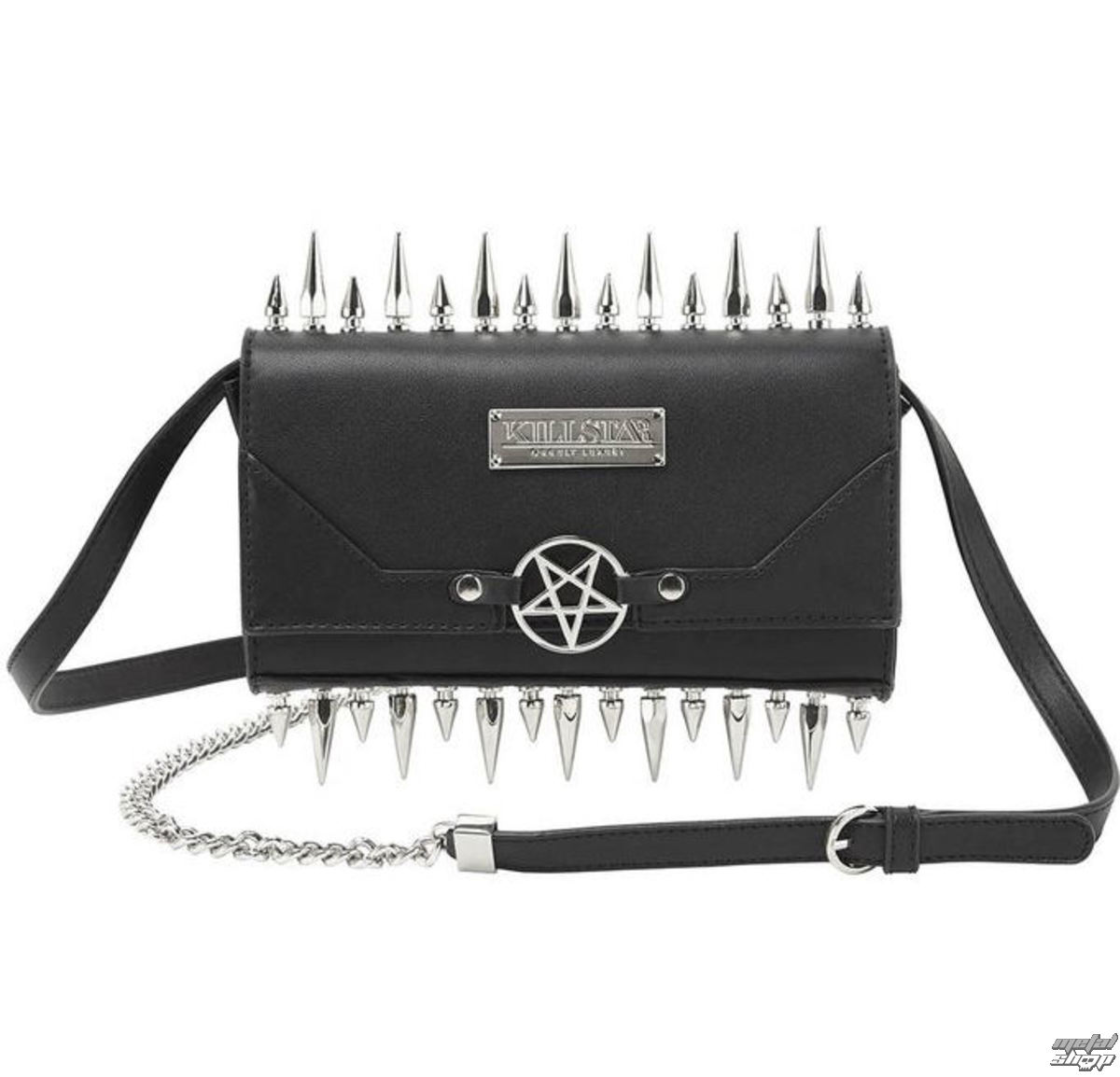 taška (kabelka) KILLSTAR - SHE DEVIL CLUTCH - BLACK - K-BAG-F-2992