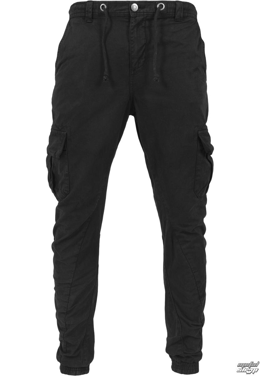 kalhoty pánské URBAN CLASSICS - Cargo Jogging - TB1268-black ... 4c70f045c2