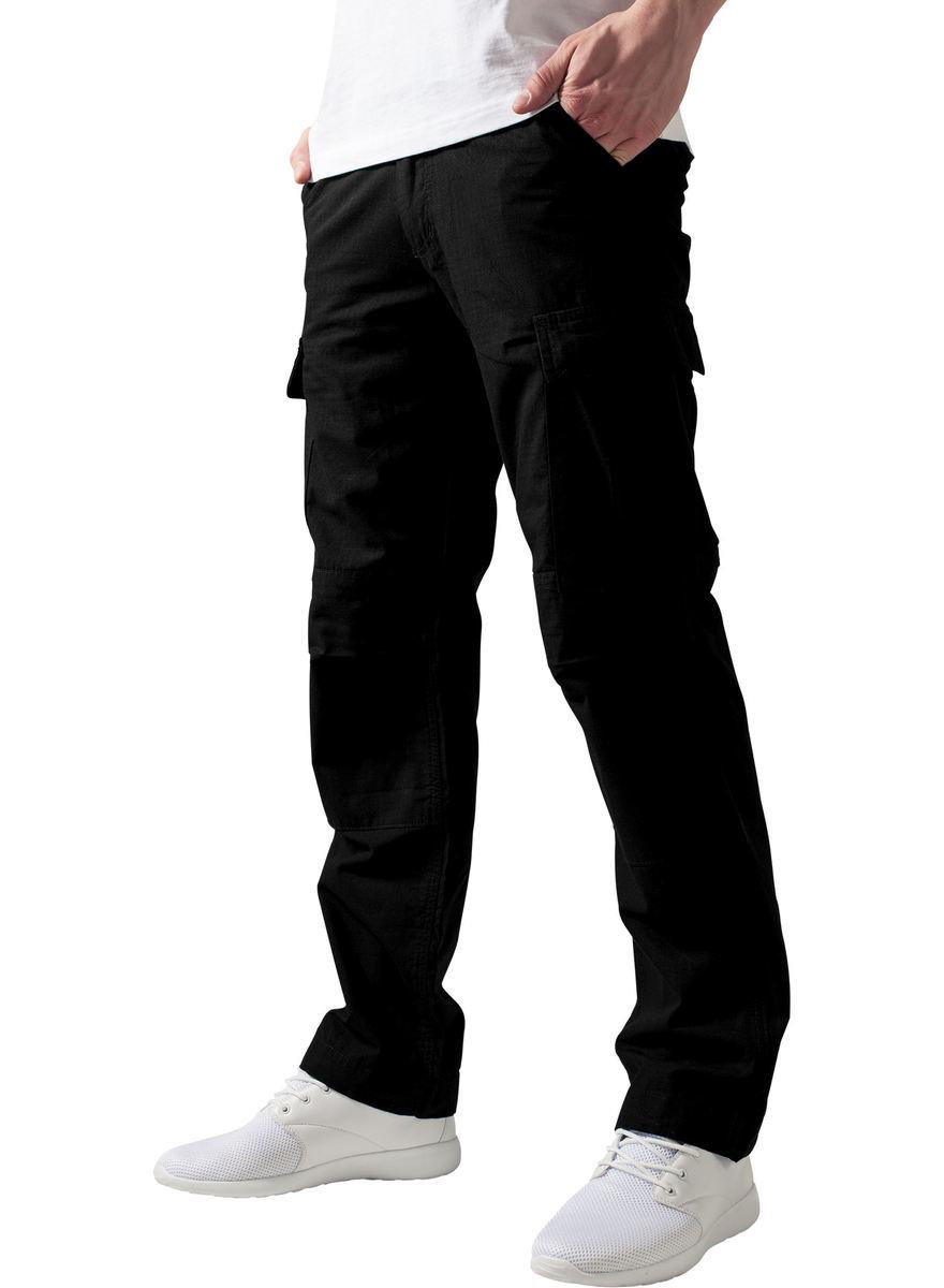 kalhoty pánské URBAN CLASSICS - Camouflage Cargo - TB630 black ... 9ce5e1cc69