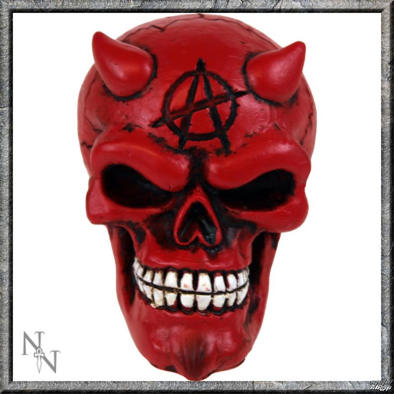 dekorace - hlavice řadící páky - Red Devil Gear Knob - U0482B4