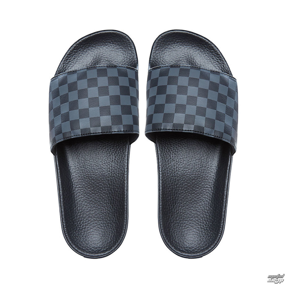 žabky unisex - MN SLIDE-ON (CHECKERBOARD) - VANS - VA33TYQ4C