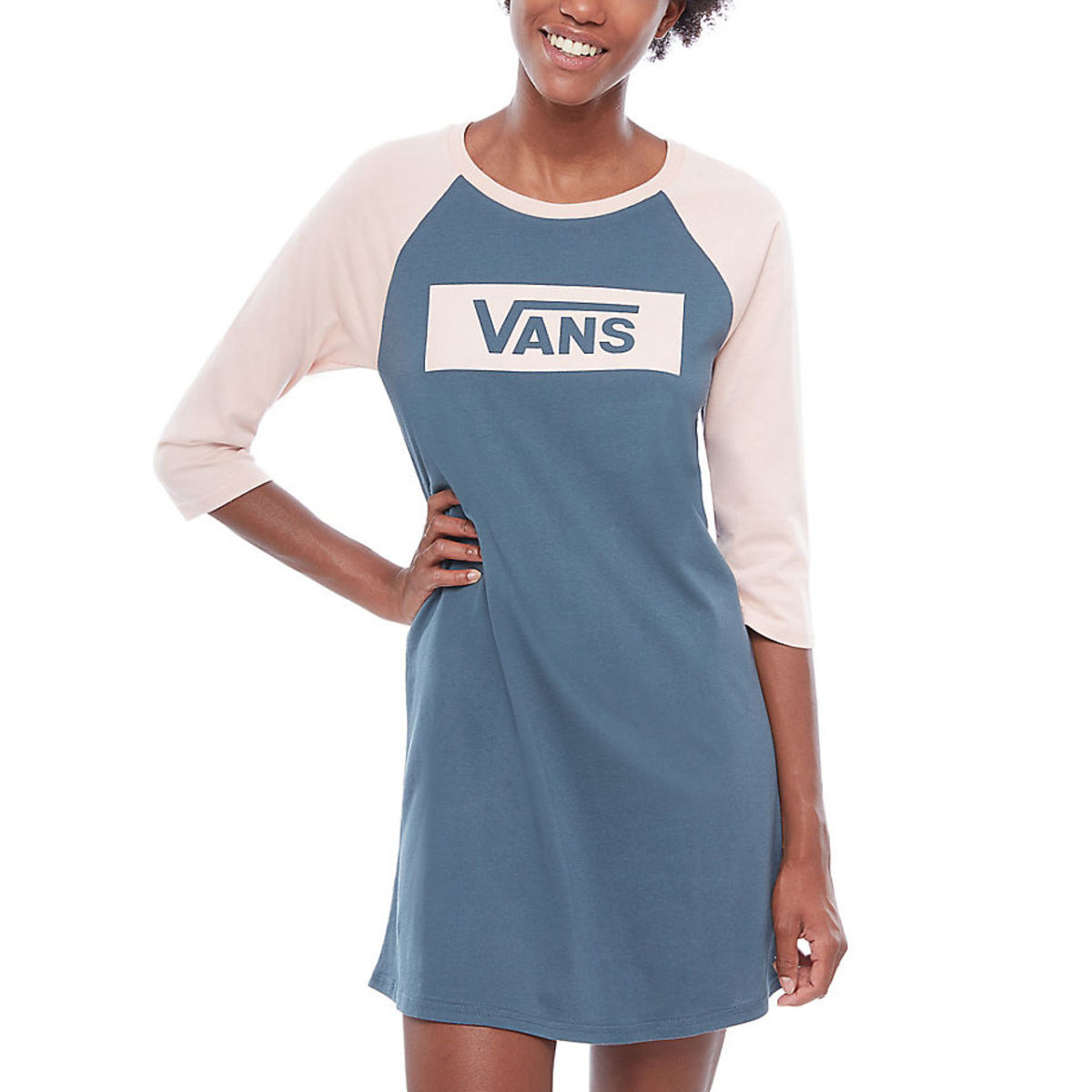 šaty VANS WM OPEN ROAD RAGLAN L